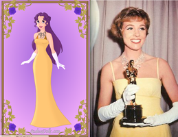 Rainbow's Oscar Dress: Julie Andrews by Colleen15