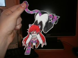grell cat:D by NitroRed