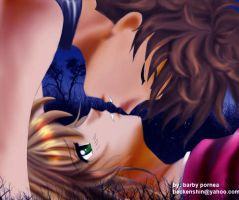 Sakura Syaoran- Blue Kiss by barbypornea