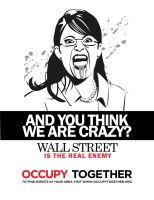 Occupy Wall St. by avivi