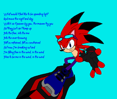 Kage Sonic Riders Style by pokegirl150