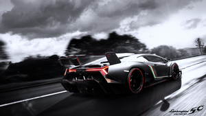 Lambo Veneno - 50th anniversary by Ferino Design by Ferino-Design