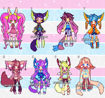 Tiny set price adopts (closed) by Kariosa-Adopts