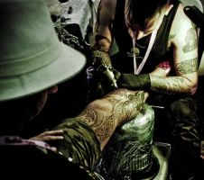 Singapore Tattoo Convention by asdbra