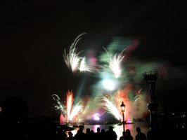 Epcot Illuminations Stock 15 by AreteStock