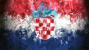 Croatian Flag Wallpaper by GaryckArntzen