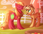 Maneswap: Mac and AJ by Littleivy25