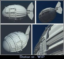 Station 32 - W.I.P. by BrotherOfMySister