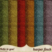 Hello to You!, Glitter by harperfinch