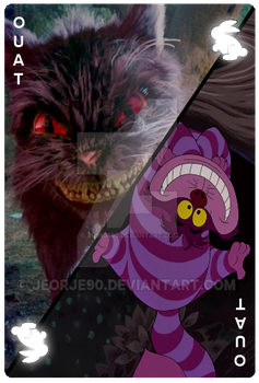 OUAT Card Cheshire Cat by jeorje90