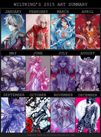 2015 Art Summary by wiltking