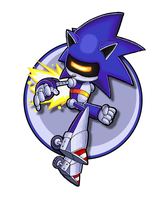 Sonic Channel Mecha Sonic by E-122-Psi