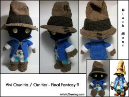 Vivi - Final Fantasy 9 by GamerKirei
