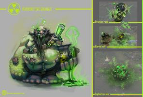 Radioactive Gragas (fan request) by Kashuse