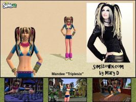 """The Sims 2: Mandee """"Triplesix"""" by surfsupnet"""