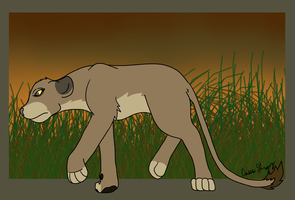 Lion Sternentier by The-Smile-Giver