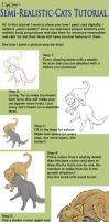 Cats fur tutorial by NoreyDragon