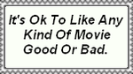 It's Ok To Like Any Movie Stamp by Normanjokerwise