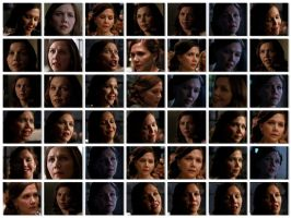 Rachel Dawes Expression Sheet by Obsess-Confess