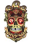 Satansbrand Sugar Skull Logo by Johnny-Sputnik