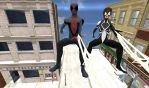 Swinging With Miles And Anya by Stylistic86