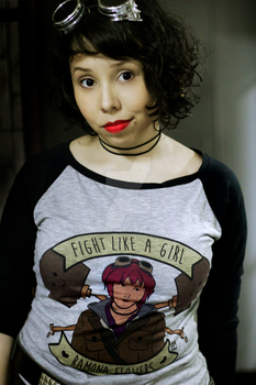 Fight like a girl, Ramona Flowers by jessicacomplex