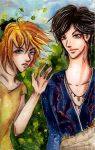 Oh hi : Suna and Dorian by Otai