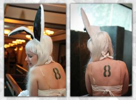 Bunny no.8 - The Number by Kittensoft