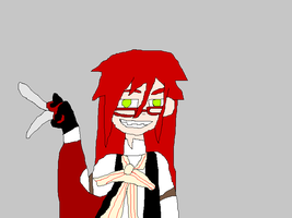 Grell Sutcliff by SonicX16