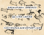 Prehistoric Brushes by FoxFireRed