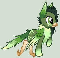 Green Aviantide adopt: closed by mondobutt