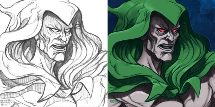 Daily Sketches Spectre by fedde