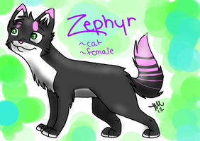 Official Zephyr Reference Sheet by AshbreezeTheKitty