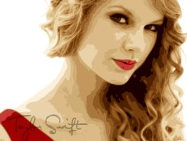 Taylor Swift vector by AyeshMantha
