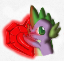 MLP:FiM - Spike's Gem by Hinami