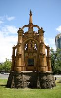 Monument in the Melbourne Botanic Garden by Charmed-Ravenclaw