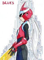 Protoman by MariahEchidna