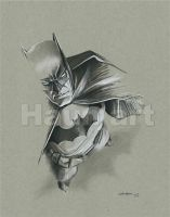 Batman / John Haun by JohnHaunLE
