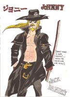guilty gear johnny by demonjester55