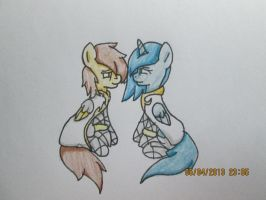 Equine and Skylia by Ask-Flare22