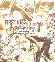 +FirstKiss by iBeatingHeart