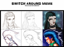 Switch Around Meme by popolis