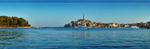 Rovinj panorama by crh