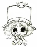 Mad Hatter-Sketch by licalawliet