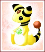 Ampharos by Spirit-Candy