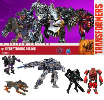 Platinum edition: decepticons rising by minibot-gears