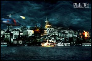 Galata Tower by SetaxDesign
