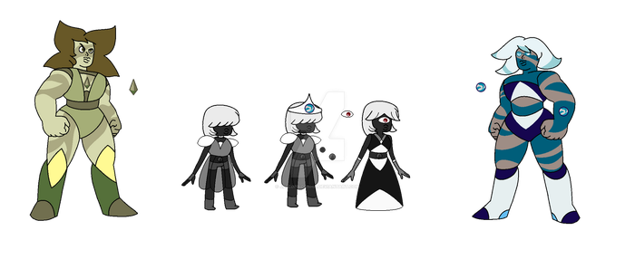 Black Sapphire and her Jaspers by jppedracunha