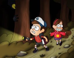 Gravity Falls by Fadri