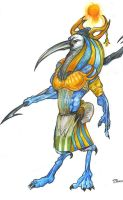 Thoth, god of being rad. by vastkupay